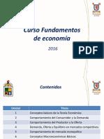 Unidad 1 Fundamentos de Economía 2016