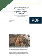 Após Saída Do Gustavo Capanema, OcupaMinc Vai Para o Canecão - Jornal O Globo