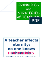 Elements of Teaching and Learning
