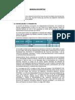 2. Memoria Descriptiva Pachachaca