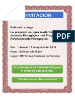 INVITACION SEGUNDA JORNADA