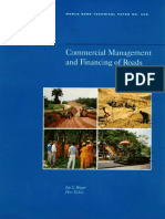 Commercial Management and Financing of Roads