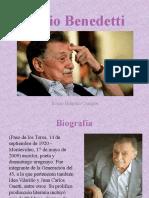 Mario Benedetti Presentación