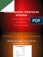 Consonantes Interiores Simples