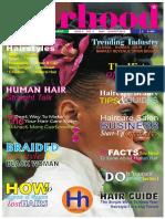 HAIRHOOD Magazine (May - August) 2016
