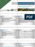 Presentation 1506 CR1506-L-P Construction Modeling in Revit Presentation