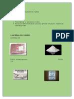 Informe Fabricacion de Vidrio