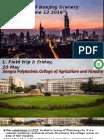 Ppt fieldtrip HANI on Nanjing Agricultural University