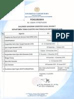 1. Kalender Akademik DTETI Gasal 2016 2017