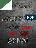 Libro de rock y metal para ensamble de guitarras