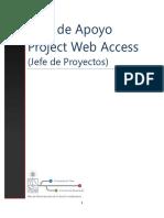 Manual Project Web Access Jefe Proyectos