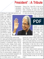 'People's President' a Tribute APJ Abdul Kalam