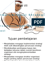 Bab VII Manajemen Strategik-Isu Manajmen Dan Operasi