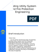 Building Utility System and Fire Protection Engineering