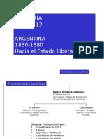 Argentina 1850-1880