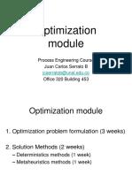 Modulo Optimizacion JCSB