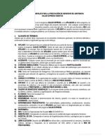 Condiciones Generales Salud Express Cuentas