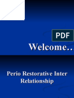 Perio Restorative Inter Relationship (Perio)