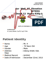 Inferior Wall ST Elevation (STEMI) Nita
