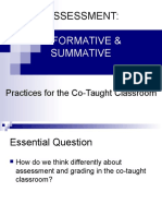04 Formative and Summative Assessment Practices for the Co-Taught Classroom