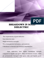 BD in Solid Dielectrics