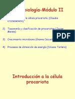 Introduc. Cell. Procariota
