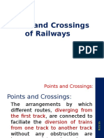 Points & Crossings