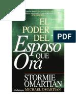 El Poder Del Esposo Que Ora - Stormie Omartian