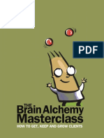 Brain Alchemy Masterclass Psychotactics