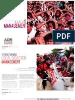 Strengthening Local Disaster Management