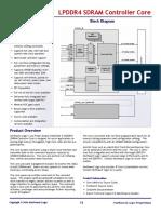 LPDDR4 SDRAM Controller Core
