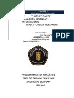 Materi Direct Foreign Investment CH13  BISMILLAHIRRAHMANIRRAHIM.docx