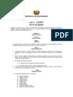Lei 23 2007 de 1 de Agosto - Lei Do Trabalho (1)