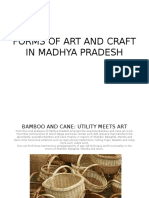 FORMS OF ART AND CRAFT IN MADHYA PRADESH.pptx
