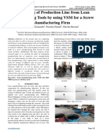 12 Redesigning of Production Line from Lean Manufacturing Tools by using VSM for a Screw Manufacturing Firm.pdf
