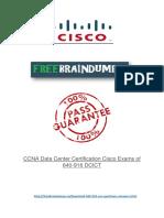 Cisco 640-916 Real Exam PDF Files