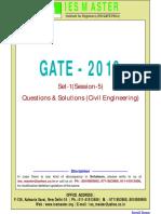 Gate 2016 Ce Set1