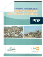Internal Migration & Urbanization-Challenges in Population and Development in Pakistan by Migration Research Group TRUST November 2015