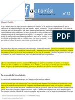 La ciudad de la nueva economía-Manuel Castells