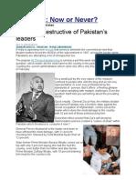 The most destructive of Pakistan's leaders