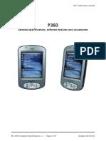 Pocket Mio p350 Pda Gps