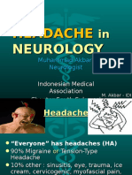 HEADACHE in Neurology