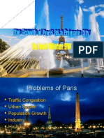 The Growth of Paris as a Primate City