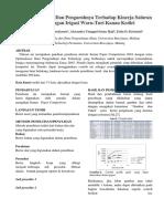 Contoh Format Penulisan Paper