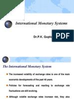 IFM4-International Monetary Systems