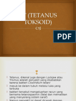 Tt (Tetanus Toksoid) Dewasa