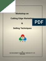 Cutting Edge Mktg & Selling Skills