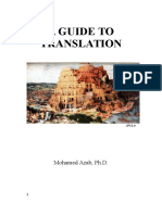 A Guide to Translation