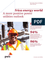 Pwc Africa Power Utilities Survey