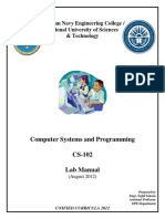 CSP Lab Manual